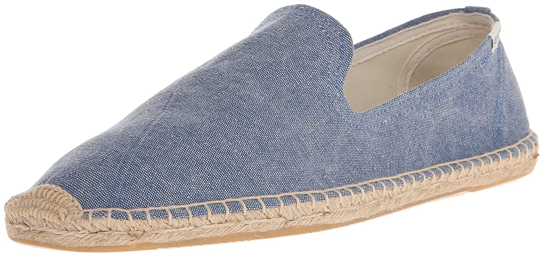 bluee Soludos Men's Smoking Slipper Sandal
