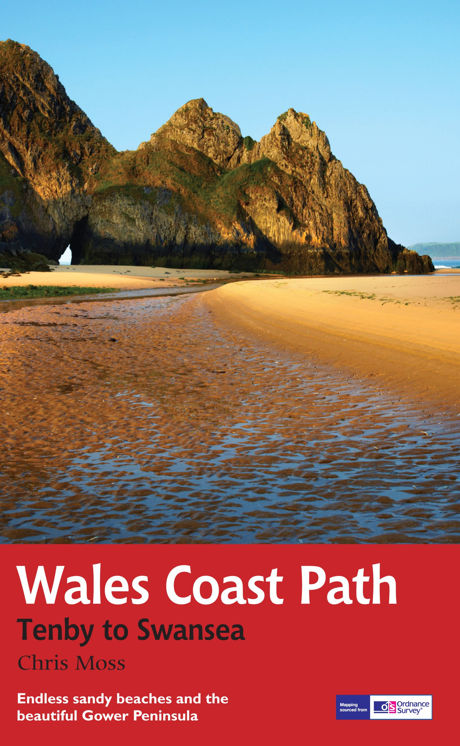 Wales Coast Path TenbySwansea Trail Guide National Trail Guide