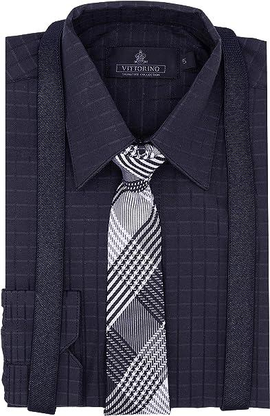 Amazon.com: Vittorino - Conjunto de camisa de vestir para ...