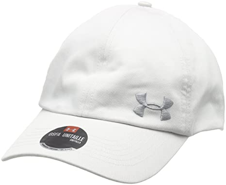 89688db270d Under Armour Women s UA Armour Solid Cap Glacier Gray Steel Hat One Size   Amazon.ca  Clothing   Accessories