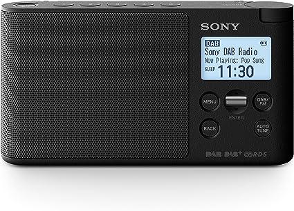Sony XDR S41D Radio Portable Digitale DAB DAB+ FM RDS Noir