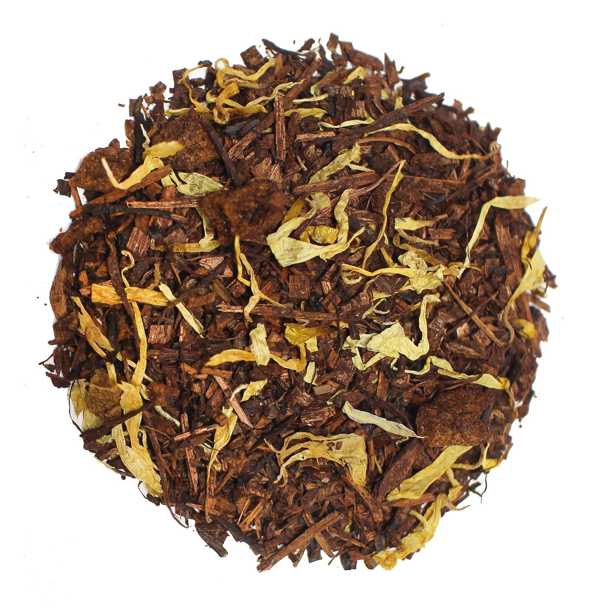 The Tea Farm - Apricot Honeybush Rooibos Herbal Tea - African Loose Herbal Tea (16 Ounce Bag) by The Tea Farm