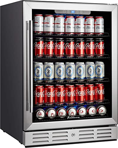 Kalamera-24-inch-154-Cans-Capacity-Beverage-Cooler