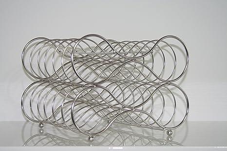 Ikea Flaschenhalter Godkand Regal Aus Metall Fur 5