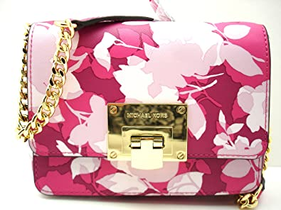dfa4947359e9 ... coupon code for michael kors tina small clutch cross body bag granita  pink fa398 f9cc8