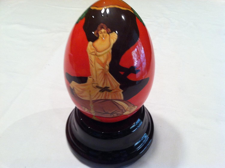 見事な Reuge音楽Rare手描きMusical Egg – La