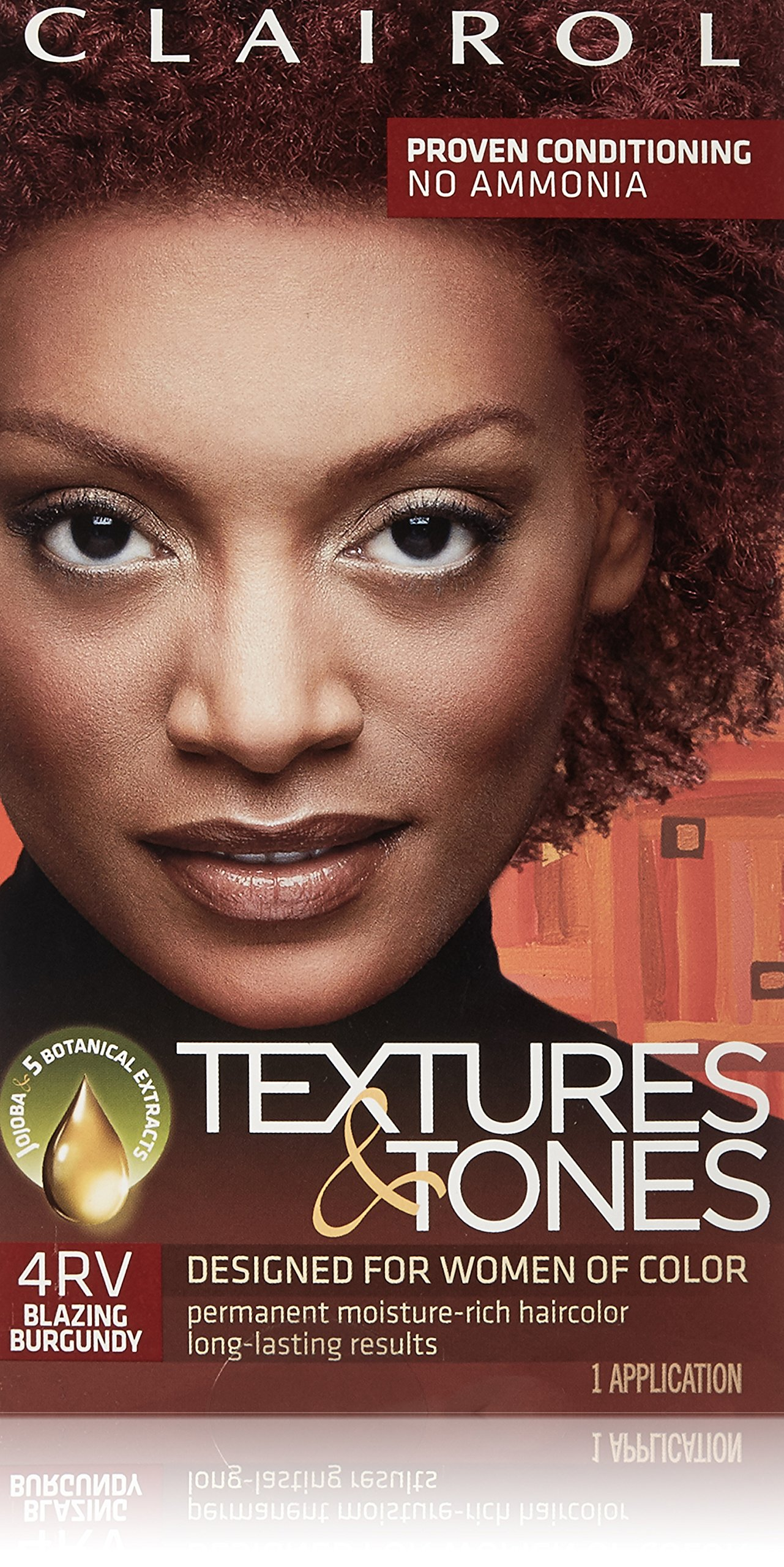 Amazon Clairol Textures And Tones Hair Dye Blazing Burgundy