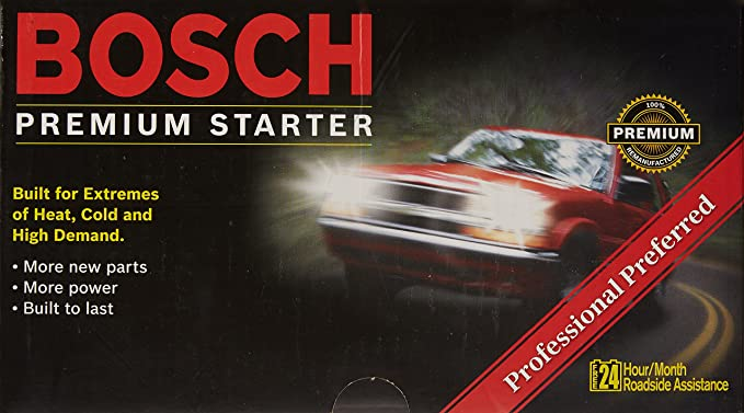 Amazon.com: Bosch SR59X - MERCEDES-BENZ Premium Reman Starter: Automotive