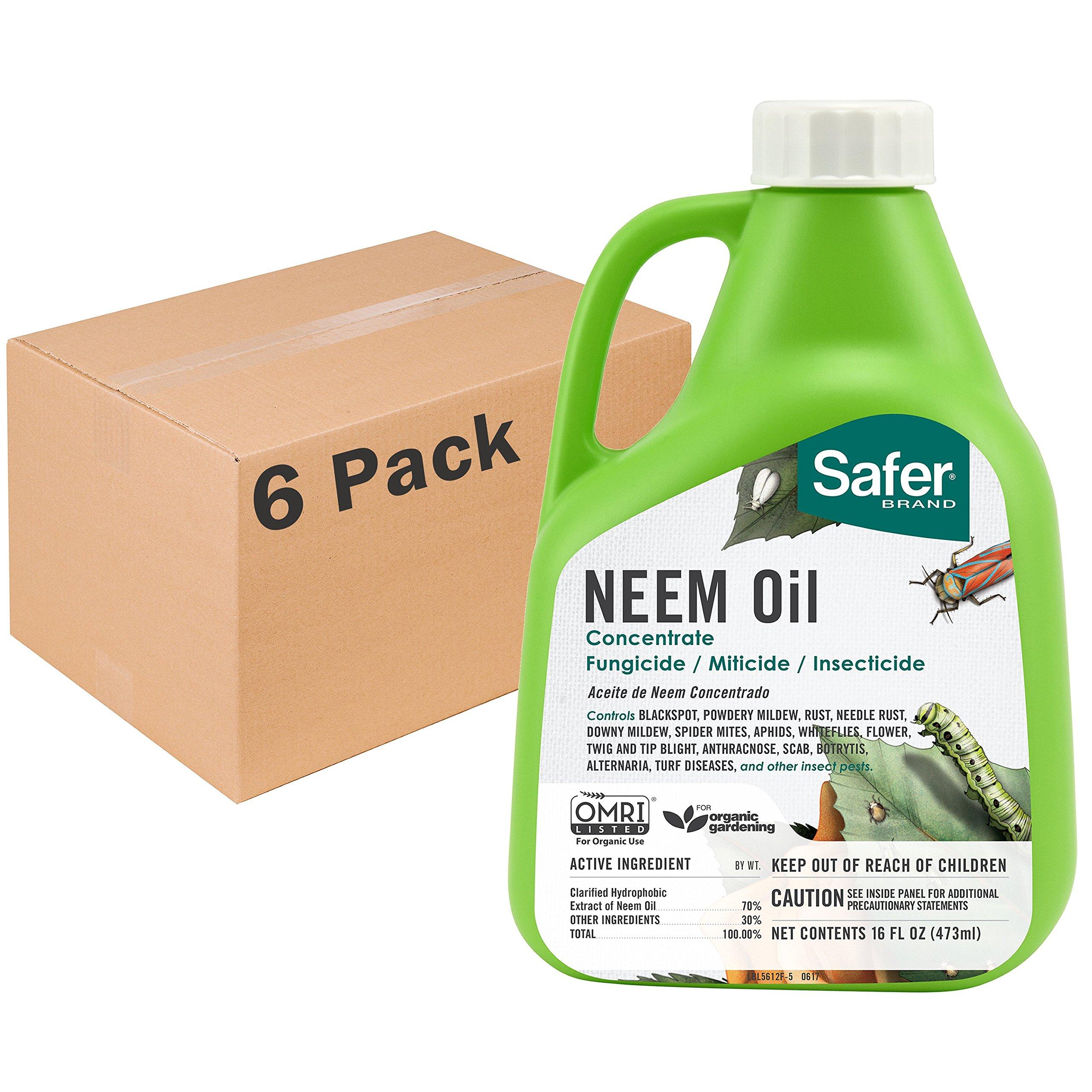 Safer Brand Neem Oil Concentrate 16oz by Safer Brand