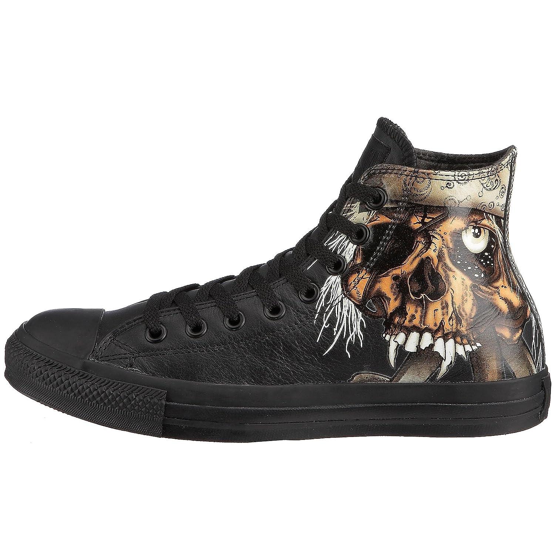 converse metallica pirate skull