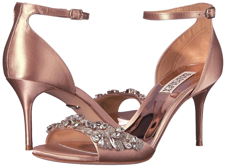 Badgley Mischka Womens Bankston Dress Sandal Latte 9 M US
