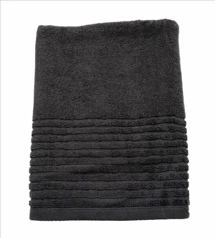 Homvare Bath Towels Super Soft Cotton Machine Washable 600GSM - Grey