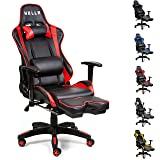 HULLR Gaming Racing Computer Office Chair With Foot