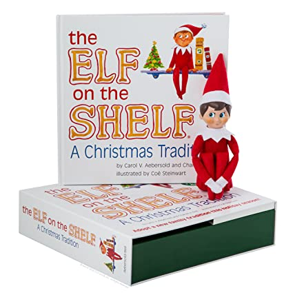 Elf on the Shelf  A Christmas Tradition (blue-eyed boy)  Carol V Aebersold   Amazon.co.uk  Toys   Games ca15eda79