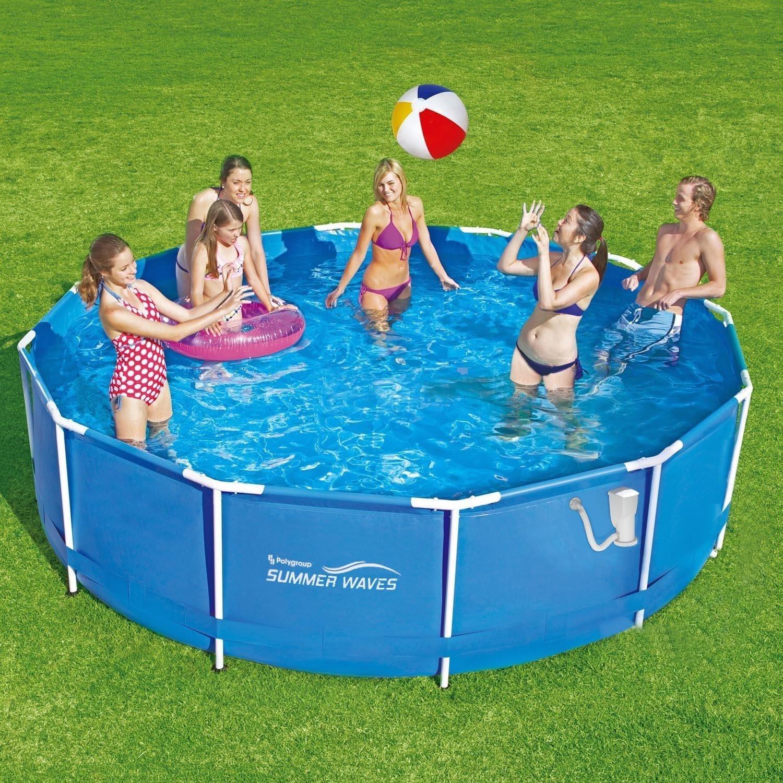 Summer Waves Frame Pool 366x91cm Rahmen Swimming Pool Familien ...
