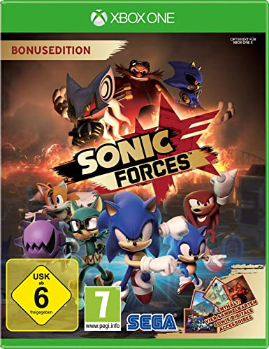 Sonic Forces Day One Edition - Xbox One [Importación alemana]: Amazon.es: Videojuegos