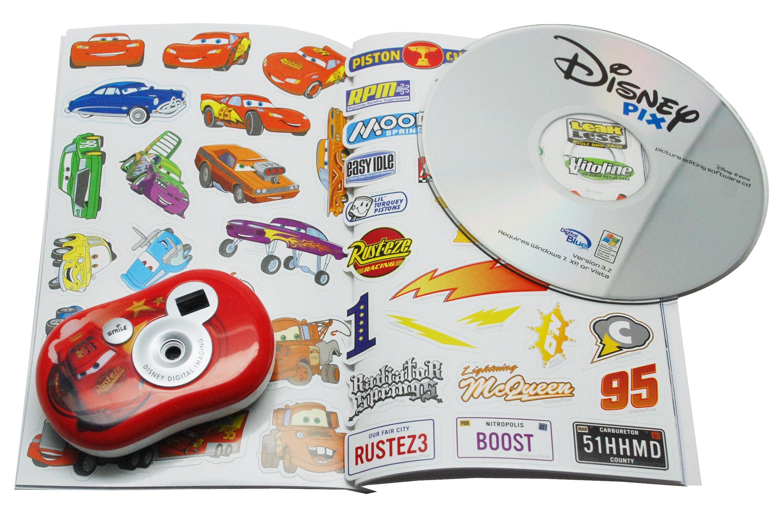 Digital Blue Disney Pix Micro Camera Creativity Kit - Cars by Digital Blue (Image #3)