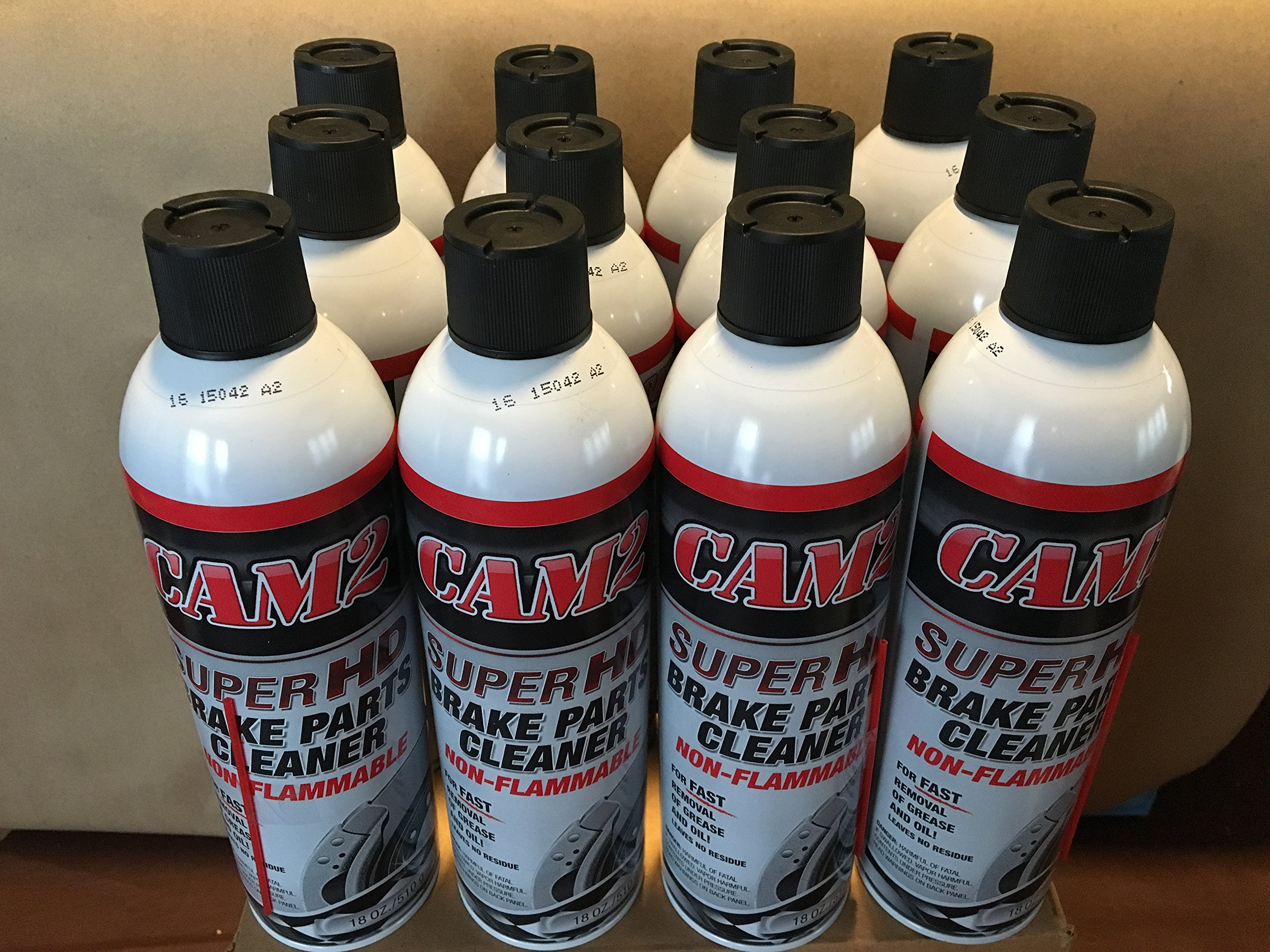 Cam2 18oz Non-Flammable Brake Parts Cleaner (case of 12)