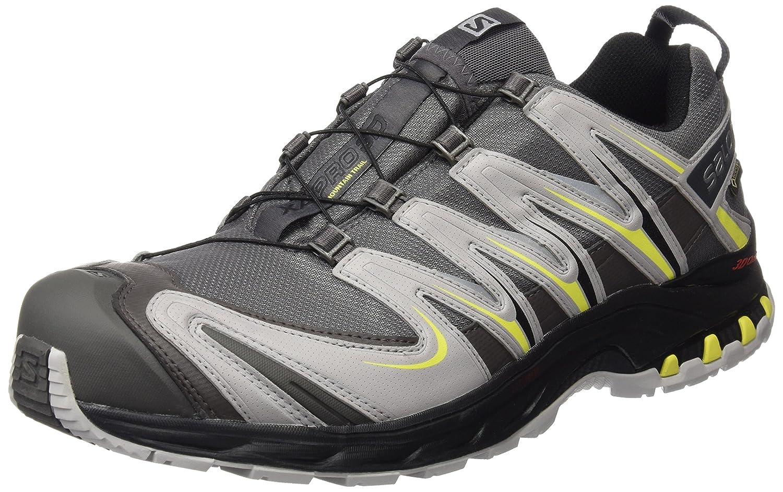 [サロモン] SALOMON トレッキングシューズ XA PRO 3D ゴアテックス 防水 登山靴 B013XKQI8G 11.5 D(M) US Autobahn/Aluminium/Corona Yellow