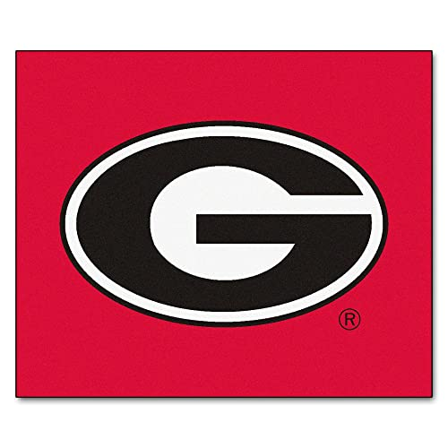 University of Georgia Red Logo Area Rug