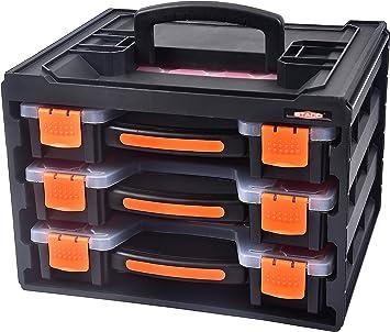 STACO 88317 - Caja organizadora: Amazon.es: Bricolaje y herramientas