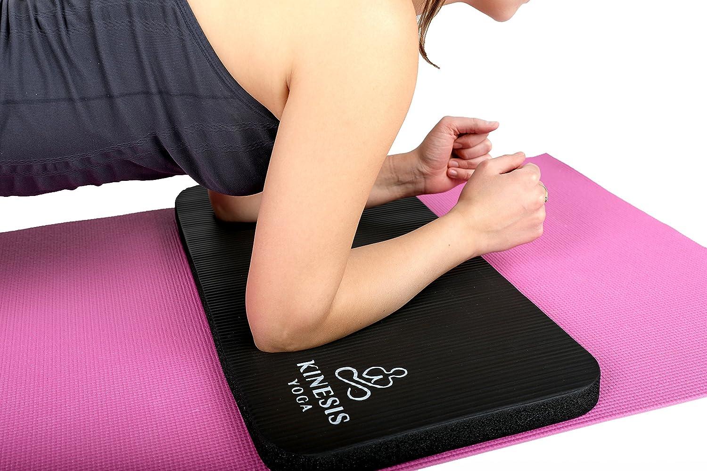 Amazon.com: Kinesis - Rodillera de yoga para yoga, extra ...