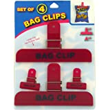 Economy Kitchen Accessory Bag Clips 4 Count