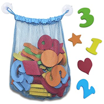 non toxic 44 piece set of foam bath letters and numbers with shapes included educational