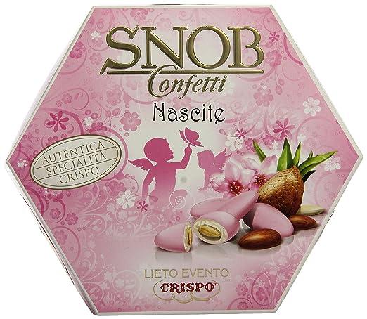 56 opinioni per Crispo Confetti Snob Lieto Evento- Colore Rosa- 500g