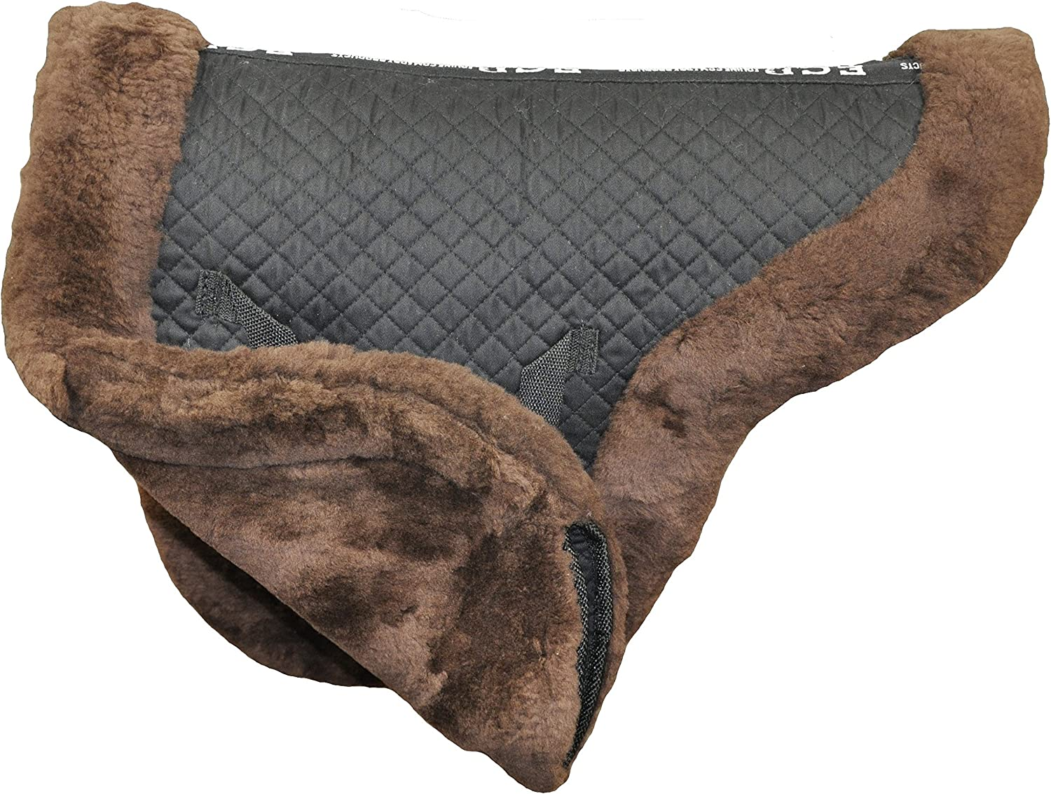 ECP Equine Comfort Products Sheepskin Fully Lined Dressage Pad