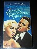 The Postman Always Rings Twice (1946) [VHS]