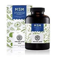 Der VERGLEICHSSIEGER 2017/2018*: MSM Kapseln - 365 Kapseln (6 Monate). Laborgeprüft. 1400 mg MSM mit natürlichem Vitamin C. Methylsulphonylmethan Pulver hochdosiert, vegan, hergestellt in Deutschland