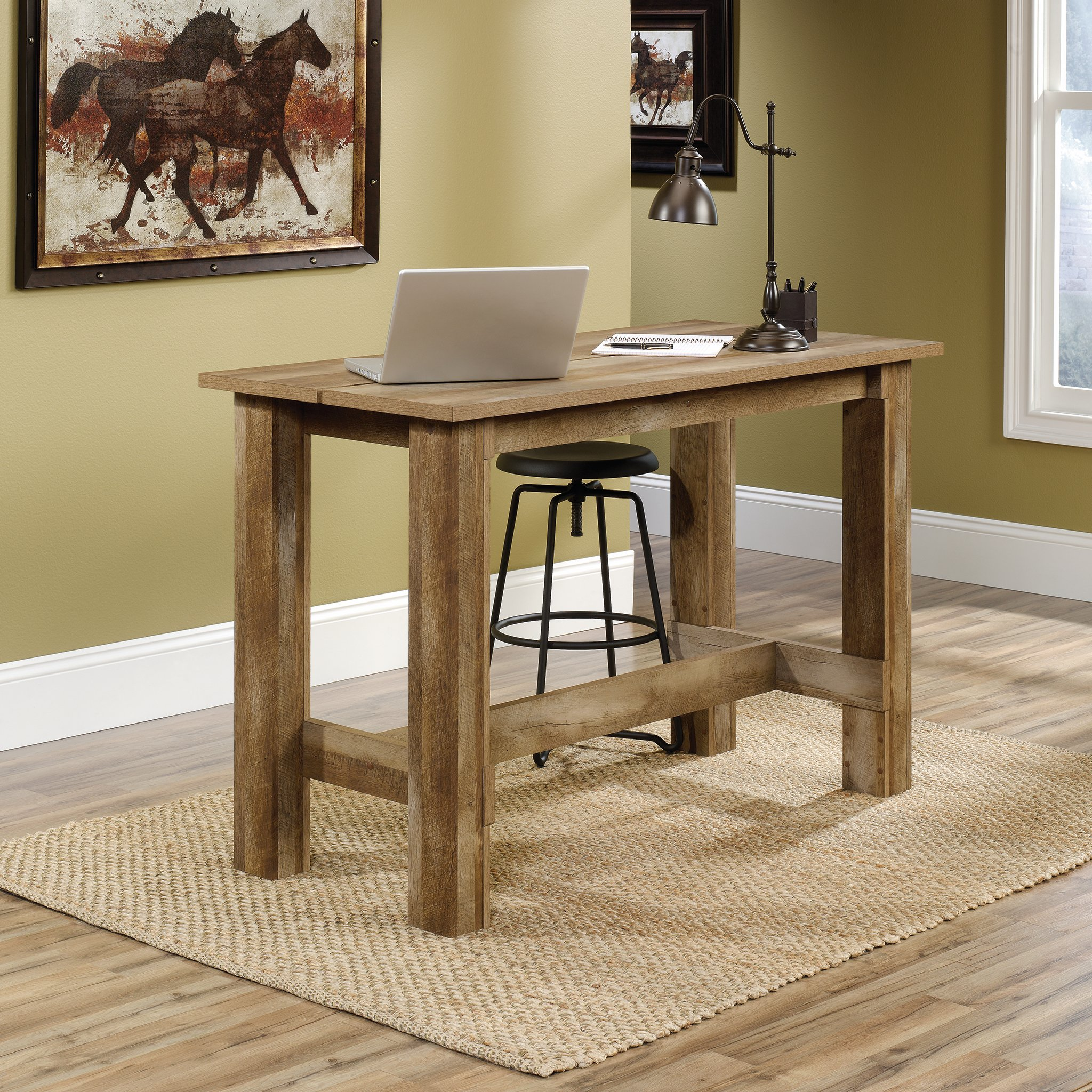 Sauder 416698 Boone Mountain Counter Height Dining Table