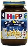Hipp Haferbrei pur, 6-er Pack (6 x 190 g) - Bio