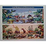 1997 The World of Dinosaurs Sheet of Fifteen 32 Cent Postage Stamps Scott 3136 By USPS
