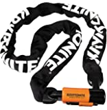 "Kryptonite Evolution Series-4 1090 Integrated Chain Bicycle Lock Bike Lock (35.5"")"