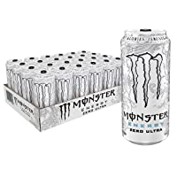 Amazon.com deals on 24-CT Monster Energy Zero Ultra, Sugar Free Energy Drink 16oz