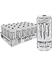Monster Energy Zero Ultra, Sugar Free Energy Drink, 16 Ounce (Pack of 24)