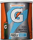 Gatorade Frost Glacier Freeze Powdered Drink Mix Net Wt 3bs 2oz (50.9 ounces)