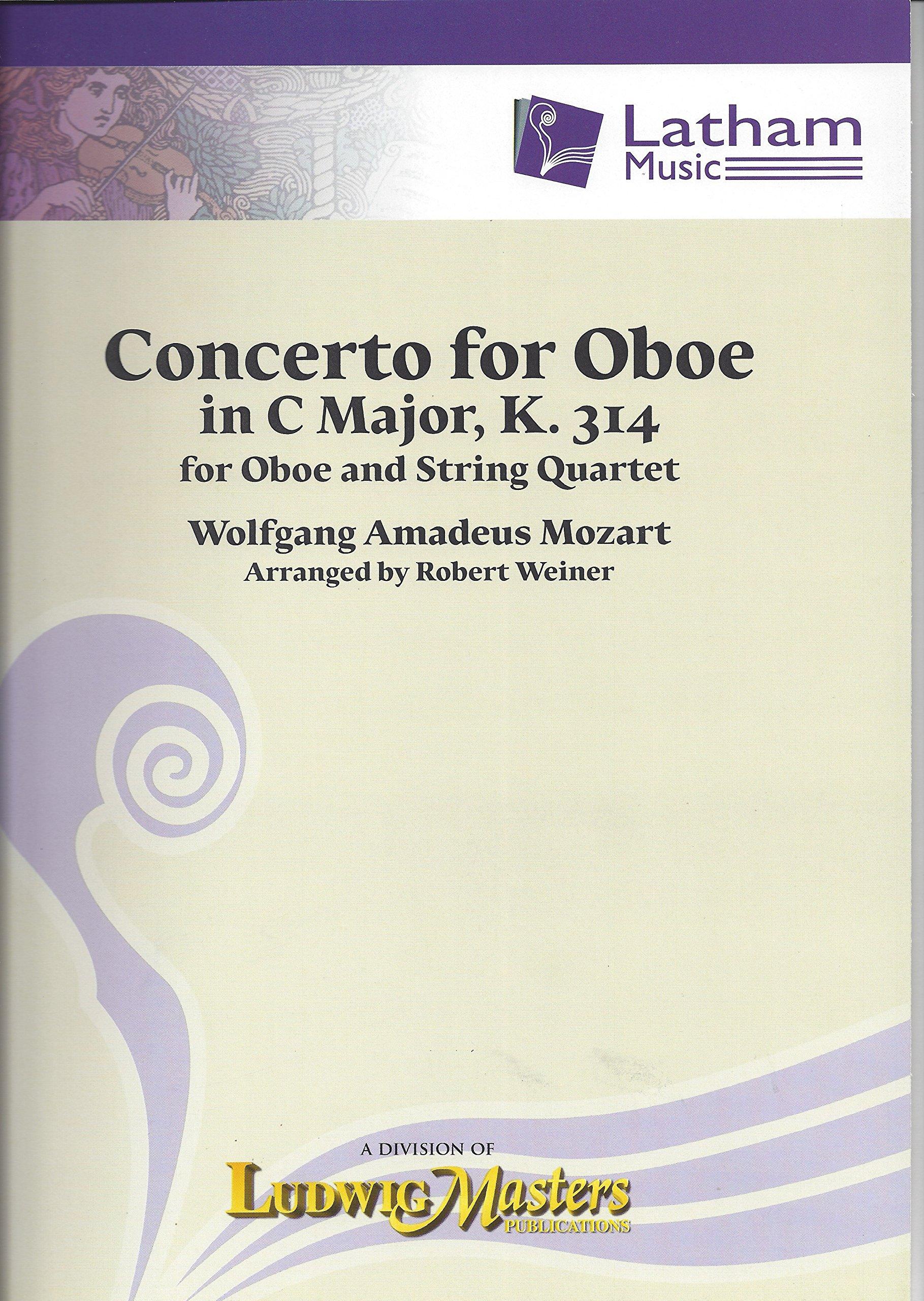 Concerto for Oboe for Oboe and String Quartet, K. 314