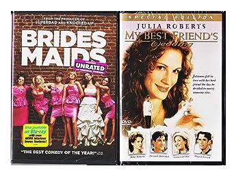 Amazon Com The Bride Movie Set My Best Friends Wedding Bridesmaid 2 Dvd Double Feature Set Movies Tv