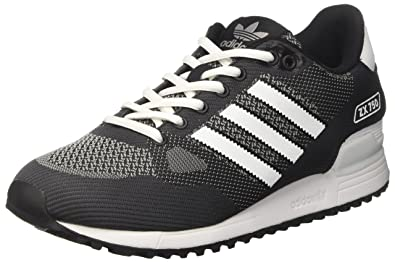 Mens Zx 750 Wv Running Shoes, Black adidas