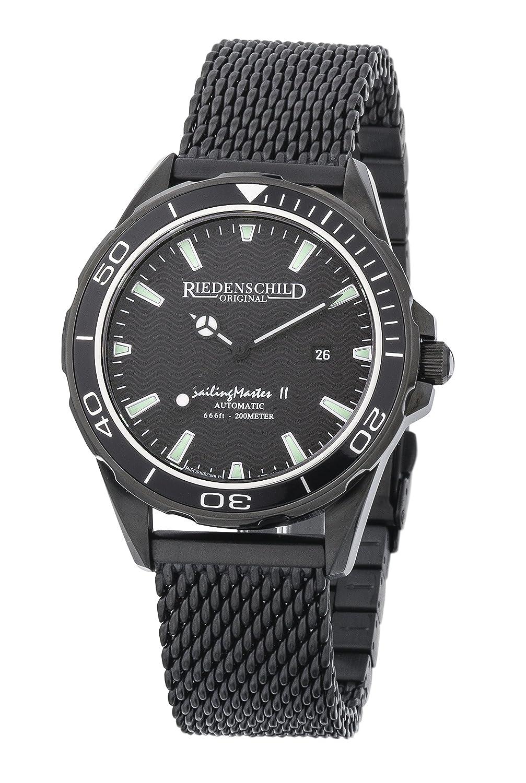 Riedenschild SailingMaster II - 20ATM - Automatik - Saphirglas - Black IP - Ref. 1150-3
