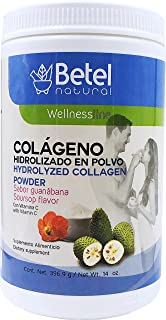 Colágeno (Hydrolyzed Collagen) - Betel Natural - Guanabana flavor