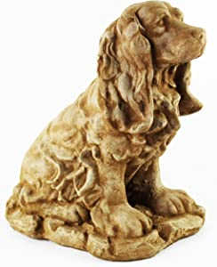 Cocker Spaniel Statue Home and Garden Statues Cement Figures