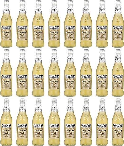 Fever Tree - Botella de cristal (500 ml, 24 unidades): Amazon ...
