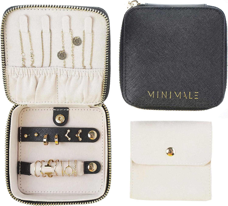 Tote Jewelry Bag Medium Size Organizer CHERRY PICK Traveling Jewelry Pouch