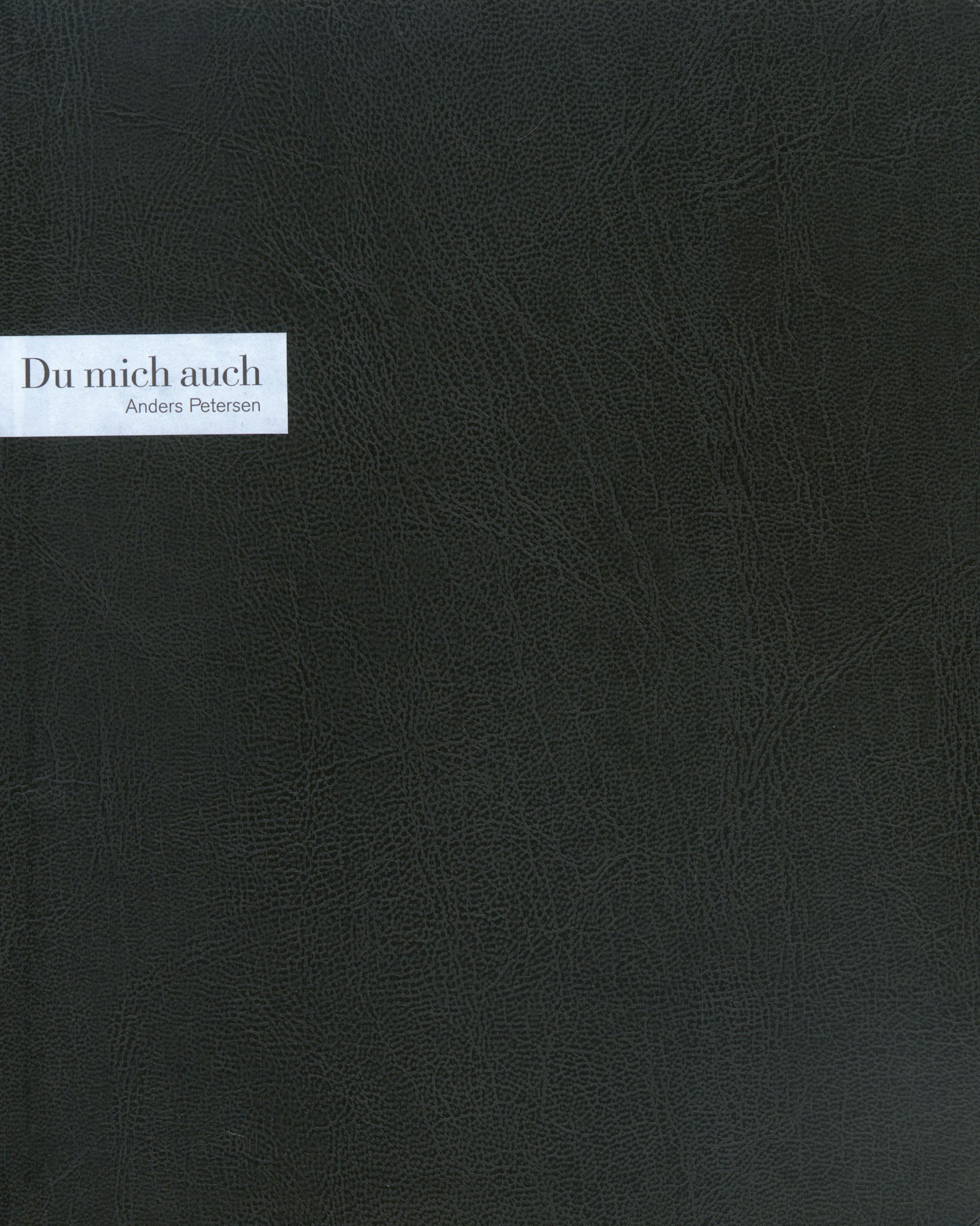 Download Anders Petersen: Du Mich Auch PDF