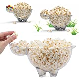Premium Popcorn Bowls By SHEEPOPCO (Set Of 2) – Unique Snack Bowl, Cute & Fun Sheep Design, Ideal Size For Snacks & Chips, Heavy-Duty BPA-Free Material, Reusable & Personalized Popcorn Container
