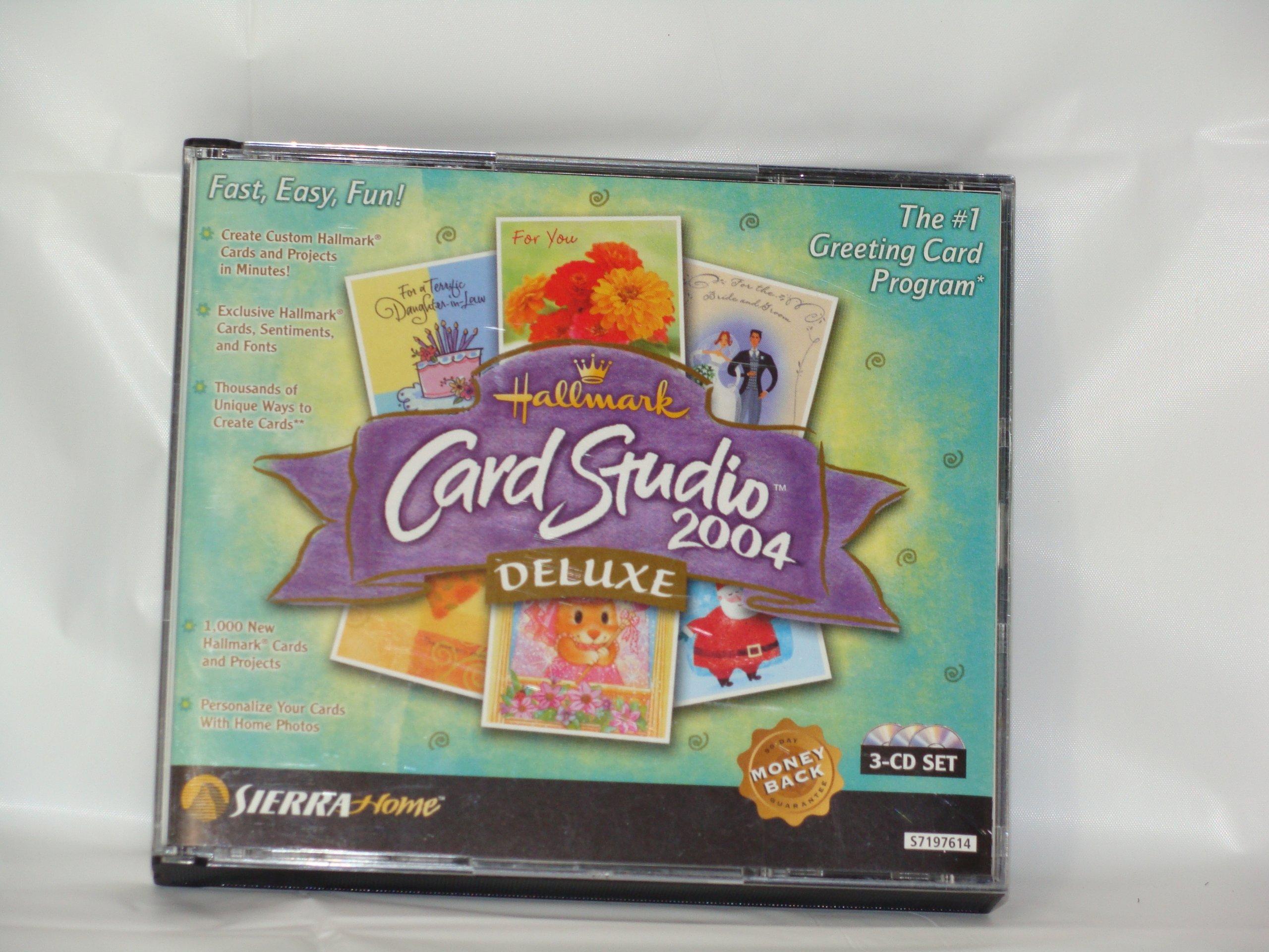 Hallmark Card Studio Deluxe 2004 - PC